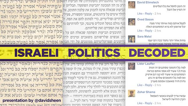 Israeli Politics Decoded